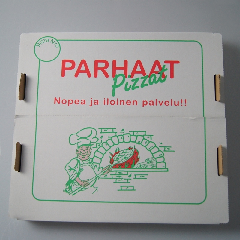 Finnish pizza box