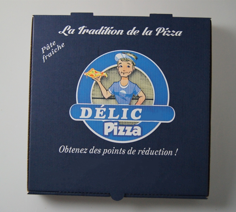 French custom printing pizza box