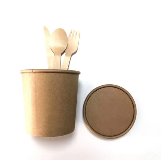 disposal kraft paper bowl(PB004)